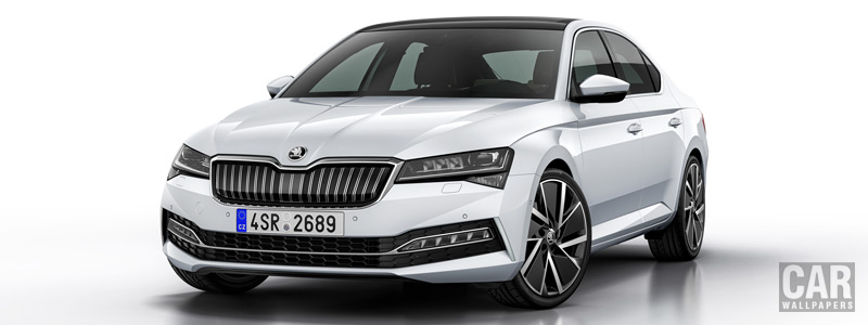 Обои автомобили Skoda Superb iV - 2019 - Car wallpapers